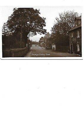 STRATHYRE Postcard Stirlngshire Early RP Looking North Advertisement J M Simpson