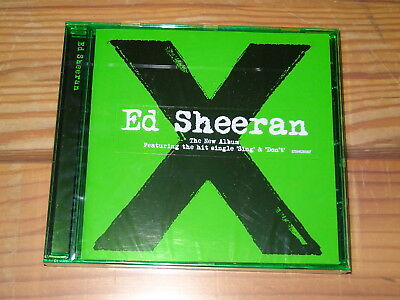 Ed Sheeran - X (Grünes Jewelcase) / Album-Cd 2014 Ovp! Sealed!