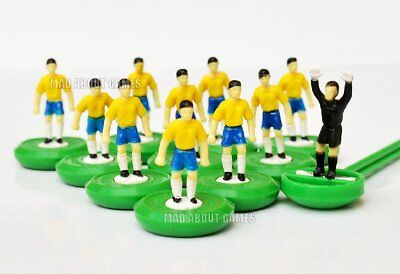 BRAZIL Subbuteo 2018 Team New Unboxed Soccer Football Game Figures Paul Lamond