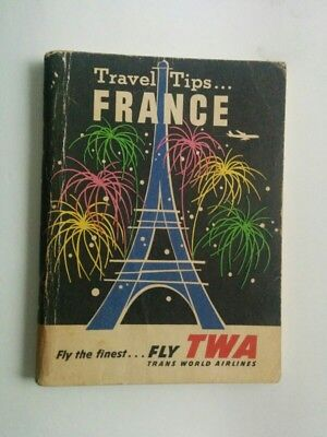 TWA Airlines Travel Tips lot of 6 travel guide books