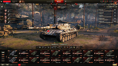 World of Tanks Account 3180 WN8 | 59% WR |~11K Personal Rating | CW Ready garage