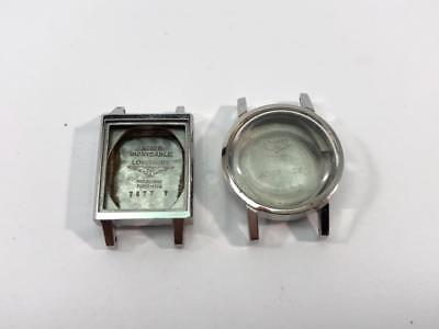 Lot of 2  watch cases Longines  New old stock 1970
