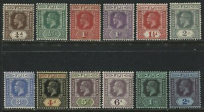 Fiji KGV 1922-27 1/4d to 2/ mint o.g.