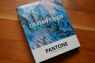 Pantone Solid Coated Chip book color specifier paint swatch sample guide manual