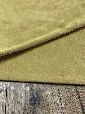 Leather Apron Suede Double Butt - Butter