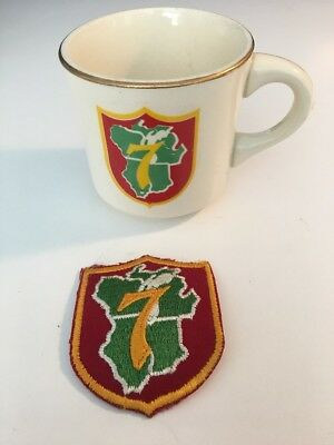 BSA Boy Scouts of America National Region 7 Coffee Mug Cup Includes Patch
