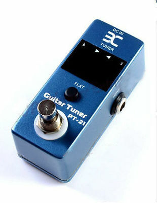 ENO Micro PT-21 Guitar Tuner Pedal Tuner Effect Compact For TC Electronics
