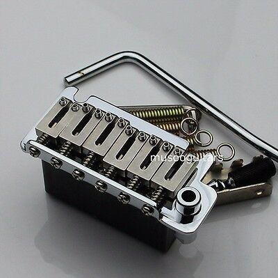 Electric Guitar Tailpiece small double rocking tremolo in Stainless steel
