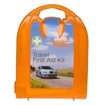 RAC Compact Travel First Aid Micro Kit 20 Pieces Safety Breakdown Equipment