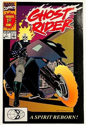 Ghost Rider #1 (1990, Marvel) NM, 2nd Series