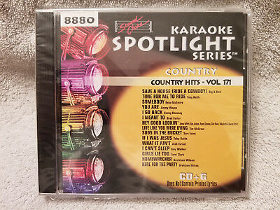 Sound Choice Karaoke CD+G Spotlight Series Country-Country Hits-Vol. 171-8880