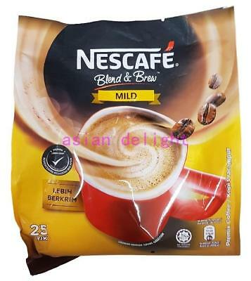 NESCAFE Blend and Brew Instant Premix Coffee Mild ( 19 g x 25 sticks )