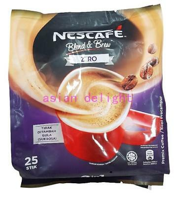 NESCAFE Blend and Brew Instant Premix Coffee Zero ( 12 g x 25 sticks )