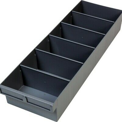 FISCHER PLASTIC 600Mm Large Spare Parts Tray Storage Drawer With Dividers