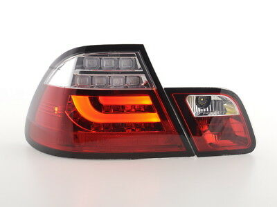 FK-Automotive LED Rückleuchten Set BMW 3er E46 Coupe Bj. 03-07 rot/klar