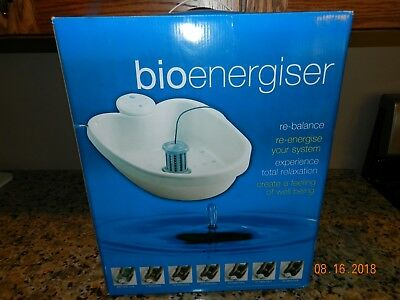 Bioenergiser~Detox~Foot Spa~System~D-tox~Complete~DVD Instructions NEW