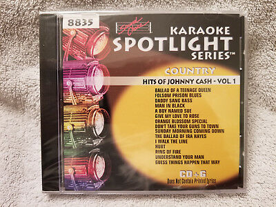 Sound Choice Karaoke CDG Spotlight Series-Hits of Johnny Cash-Vol.1-8835 New!