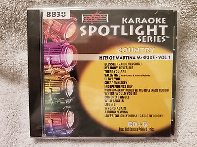 Sound Choice Karaoke CDG Spotlight Series-Hits of Martina McBride-Vol.1-8838