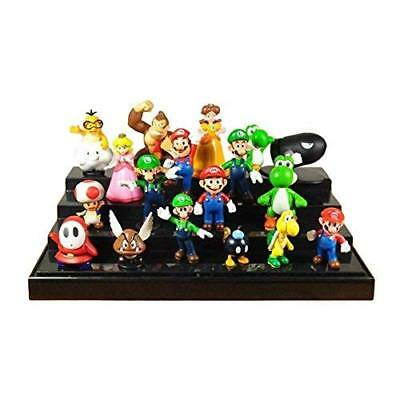 Super Mario Brothers Mini Pendants 18pcs/set Mario Goomba Koopa PVC Figures