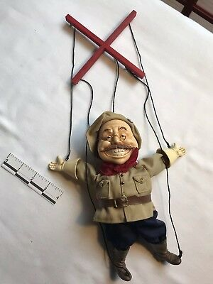 Colonel Teddy Roosevelt Rough Riders Marionette