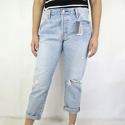 d005a8fd0ee NEW Levi's 501 CT Jeans For Women Size 31x32 Tapered Leg Button Fly  SELVEDGE NWT