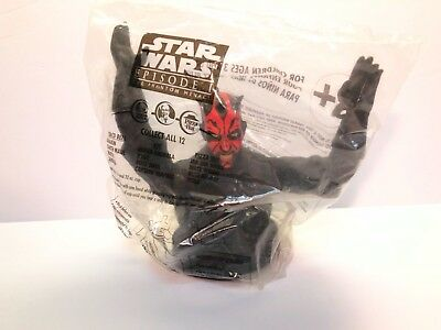 Star Wars Episode 1 Darth Maul 1999 Taco Bell KFC Pizza Hut Cup Holder New
