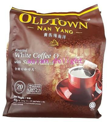 OldTown Nan Yang Roasted White Coffee O with sugar (30 g x 20 sachets )