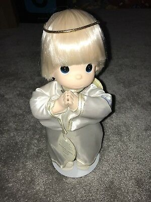 """Precious Moments 12"""" Guardian Angel Doll – Collectable Vintage Antique Rare Cute"""