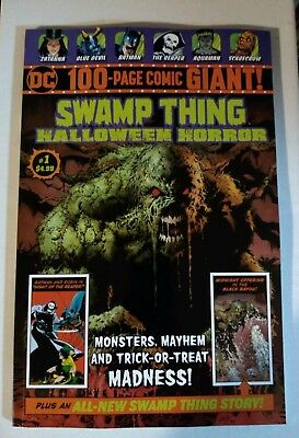 Swamp Thing Halloween Horror Special 100 Page Giant DC 2018 NM
