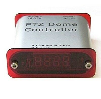 PTZ Dome Controller RS-485 WIRELESS REMOTE IR PAN TILT Zoom  12V Pelco D/P.
