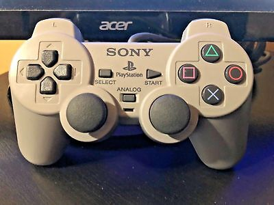 Sony PlayStation 1 DualShock Controller PS1 Analog Official Cleaned Tested