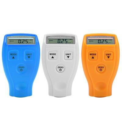 LCD Car Paint Tester Coating Thickness Digital Detector Measuring Gauge GM200