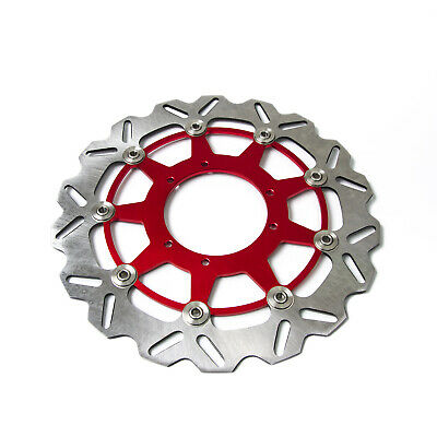 320MM Front Wavy Floating Brake Disc Rotor For Honda CRF250 CRF450 Supermoto