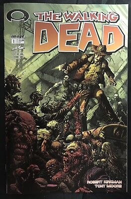 The Walking Dead #1 15Th Annv Blind Bag Finch Variant Colour Cover
