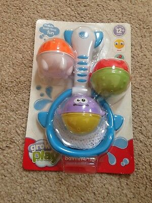 Griw And Play Bathtime Net Set