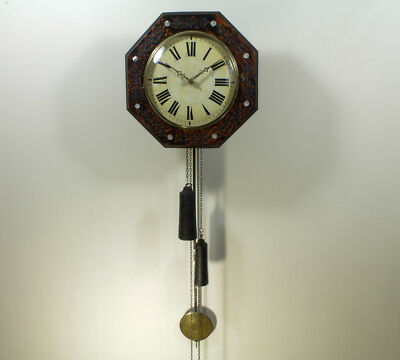 Nice Antique German Black Forest Wag on the wall Clock / Spares and Repairs