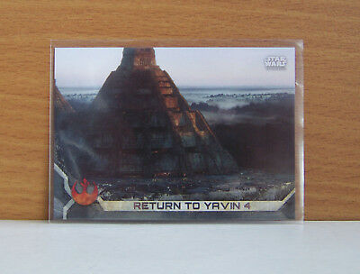 Star Wars Rogue One series 2 Return to Yavin 4 #39 Gray Grey parallel card /100