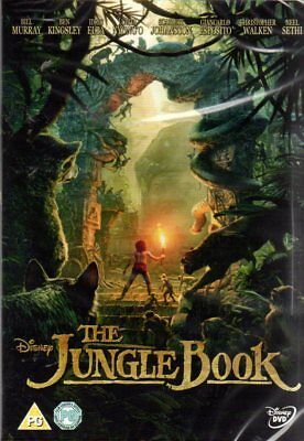 IL LIBRO DELLA GIUNGLA -the jungle book FILM DVD  DI JON FAVREAU