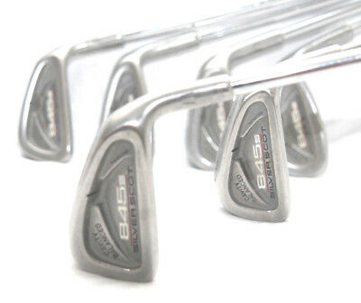 Tommy Armour 845s Silver Scot Irons 5-PW Regular Tour Step Steel /7-Iron R300 DG