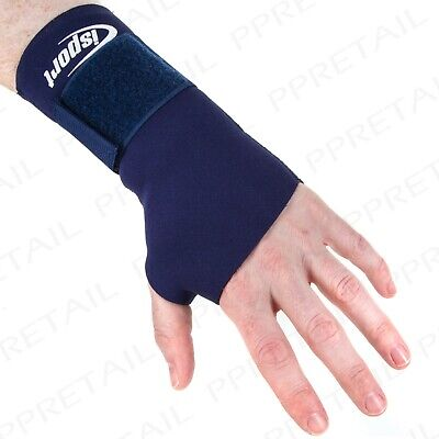 53d4ed8cf6 LARGE THICK NEOPRENE WRIST BRACE Arthritis Sprain Carpel Tunnel RSI Support  Wrap