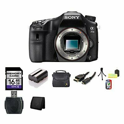 Sony A77II 24.3 MP APS-C Digital SLR Camera (Body) Bundle 1