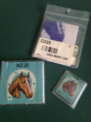 Brother Embroidery Card No 25 Horses for Brother Embroidery machines