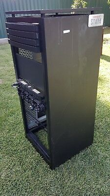 MFB 24RU 19 Inch 600mm Deep COMMS & DATA RACK CABINET STAND ALONE with SHELVES