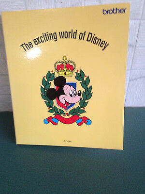 Brother Embroidery Card Disney for Brother Embroidery machines