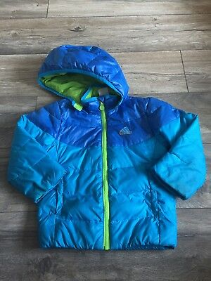 Boys Age 3-4 Duck And Down Adidas Puffer Jacket