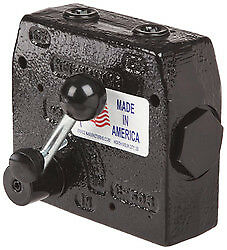 "New Prince Adjustable Flow Control Valve 0-30 GPM, 3000 PSI, 3/4"" NPT, 222204"