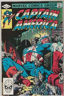 *** Marvel Comics Captain America #272 F+ ***