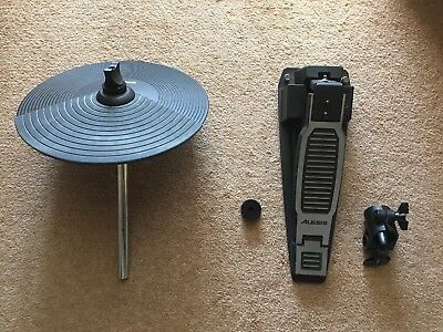 Alesis Hi-Hat, Pedal And Accessories. (No Cables Included).