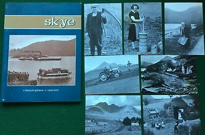 7 X Isle of Skye Postcards And Last Ferry To Sky Book