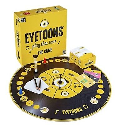 Eyetoons Play That Toon Board Game (2016, 4+ players)